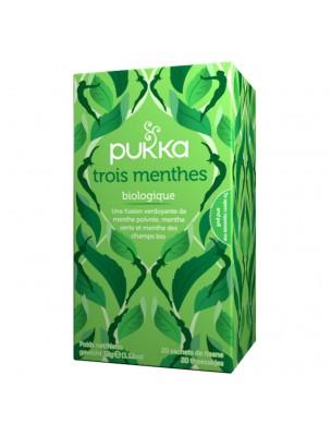 Trois Menthe Bio - Infusion 20 sachets - Pukka Herbs