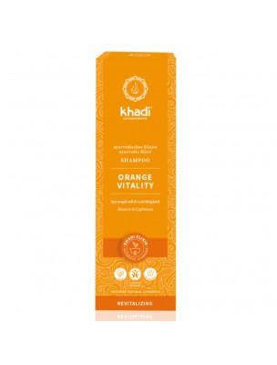 Shampooing Ayurvédique Orange Vitality - Cheveux normaux à gras 200 ml - Khadi