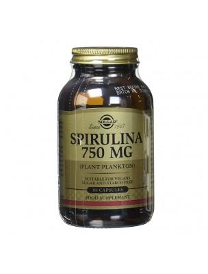 Spiruline 750mg - Récupération musculaire 80 gélules - Solgar