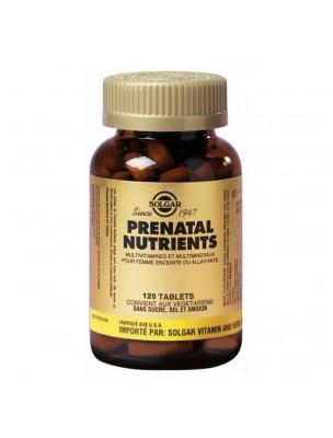 Prenatal Nutrients - Vitamines Femmes enceintes et allaitantes 120 comprimés - Solgar