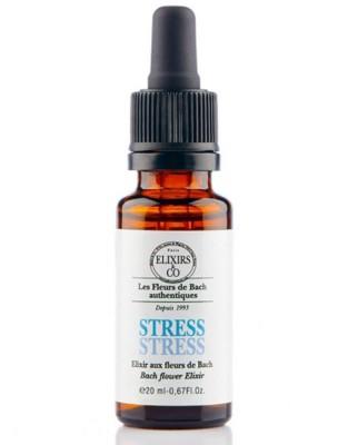 Elixir composé Bio aux Fleurs de Bach - Contre le stress 20 ml - Elixirs and Co