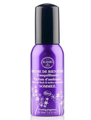 Brume de bien-être aux Fleurs de Bach - Pour le sommeil 30 ml - Elixirs and Co