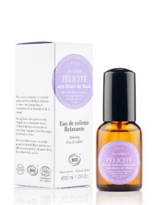 Félicité - Eau de toilette relaxante Bio aux Fleurs de Bach 30 ml - Elixirs and Co