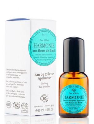 Harmonie - Eau de toilette apaisante Bio aux Fleurs de Bach 30 ml - Elixirs and Co