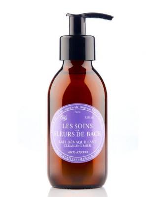 Lait démaquillant anti-stress Bio aux Fleurs de Bach 150 ml - Elixirs and Co