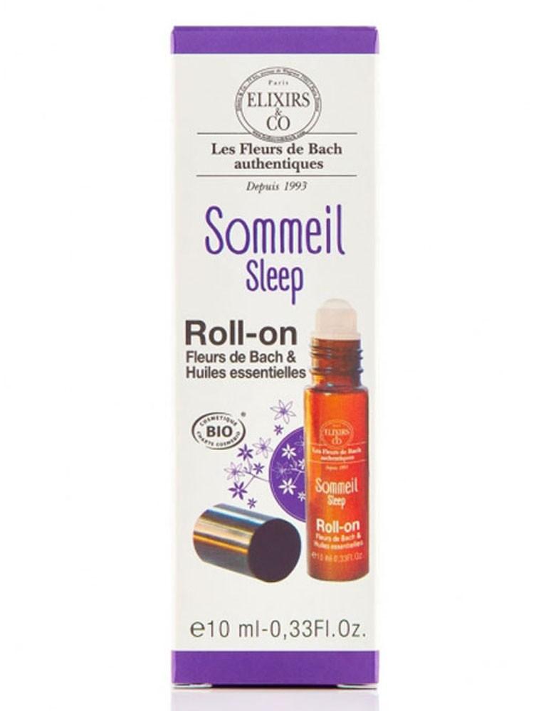 Roll-on Sommeil Bio aux Fleurs de Bach 10 ml - Elixirs and Co