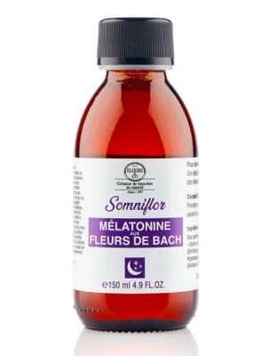 Somniflor - Mélatonine aux fleurs de Bach 150 ml - Elixirs and Co