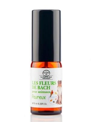 Elixir Animaux Peureux Bio aux Fleurs de Bach 10 ml - Elixirs and Co
