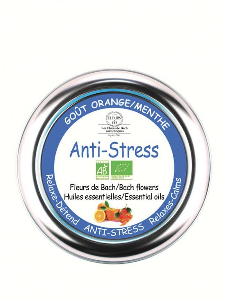 Pastilles Anti-Stress Bio aux Fleurs de Bach 45 g - Elixirs and Co
