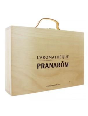 Aromathèque Pranarôm - valise vide de 60 emplacements