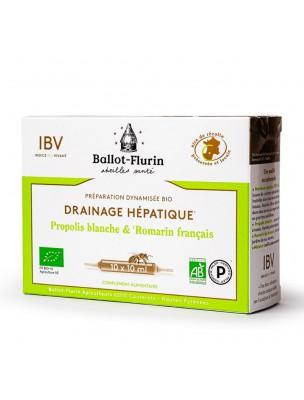 Préparation dynamisée Bio - Drainage Hépathique 10 ampoules de 10 ml - Ballot-Flurin