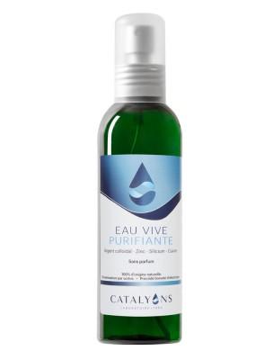 Eau Vive à l'Argent Colloïdal et à la Chlorophylle - Action purifiante 150 ml - Catalyons