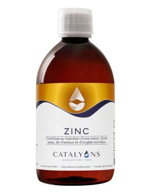 Zinc - Peau et Métabolisme Oligo-élément 500 ml - Catalyons