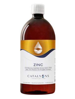 Zinc - Peau et Métabolisme Oligo-élément 1000 ml - Catalyons