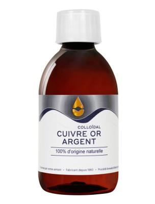 Cuivre, Or et Argent - Oligo-éléments 150 ml - Catalyons