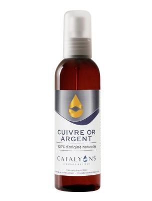 Cuivre, Or et Argent Colloïdal - Vaporisateur 150 ml - Catalyons