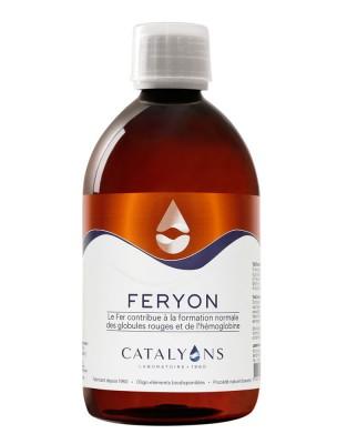 Feryon -  Carence en Fer Oligo-élément 500 ml  - Catalyons