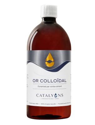 Or colloïdal - Oligo-élément 1000 ml - Catalyons