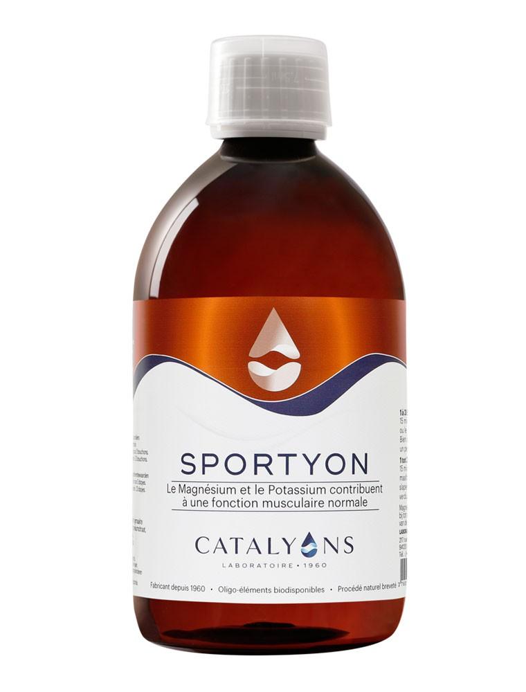 Sportyon - Fonction musculaire Oligo-éléments 500 ml - Catalyons
