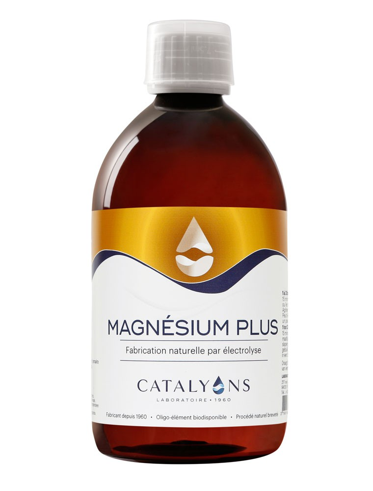 Magnésium Plus - Oligo-élément 500 ml - Catalyons