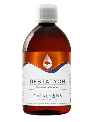 Gestatyon -  Grossesse et Allaitement Oligo-élément 500 ml  - Catalyons