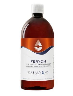 Feryon - Carence en Fer Oligo-élément 1000 ml - Catalyons