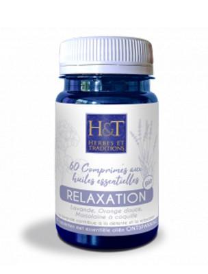 Comprimés aux huiles essentielles Bio - Relaxation 60 comprimés - Herbes et Traditions