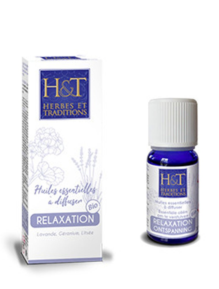 Synergie d'huiles essentielles - Relaxation 10 ml - Herbes et Traditions