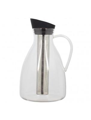 Carafe à Thé glacé 2 litres avec Filtre en Acier inoxydable