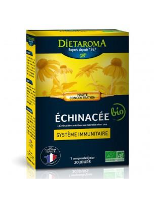 Echinacée Bio - Système immunitaire 20 ampoules - Dietaroma