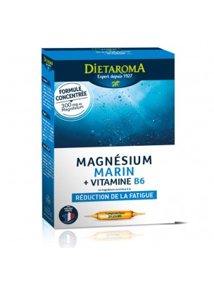 Magnésium Marin et Vitamine B6 - Fatigue 20 ampoules - Dietaroma