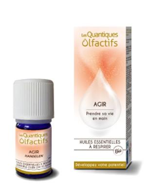Agir - Développement personnel 5 ml - Les Quantiques Olfactifs