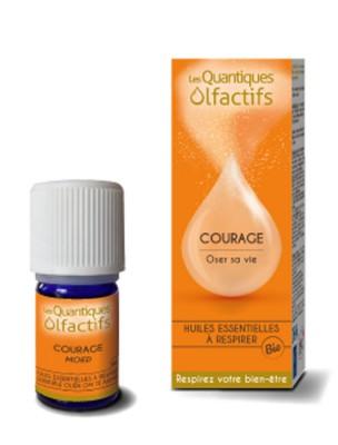 Image de Courage - Vie quotidienne 5 ml - Les Quantiques Olfactifs depuis Les Quantiques Olfactifs à l'herboristerie Louis