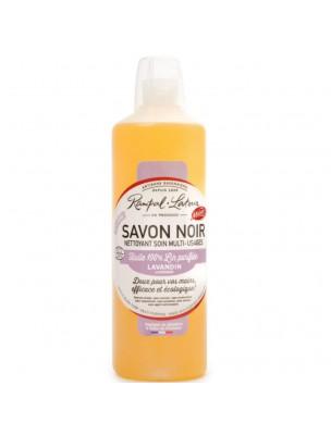 Savon Noir Lavandin Bio - Nettoyant Soin Multi-usages 1 Litre - Rampal Latour