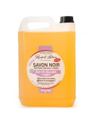 Savon Noir Lavandin Bio - Nettoyant Soin Multi-usages 5 Litres - Rampal Latour