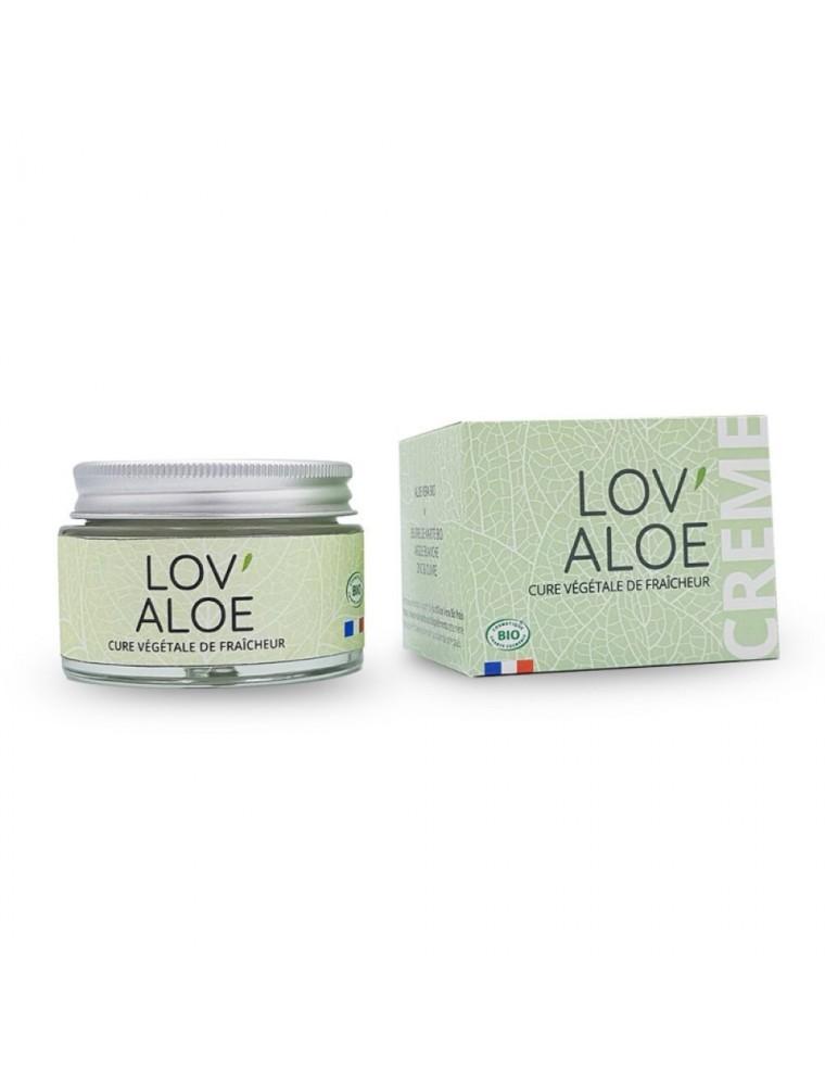 Lov'Aloe Bio - Crème Visage Fraîcheur 50 ml - Propos Nature
