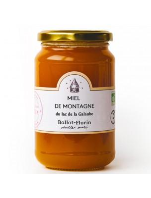 Miel de Montagne Bio 480g -  Notes fruitées, Vitalité et gorges sensibles - Ballot-Flurin