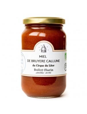 Miel de Bruyère Callune Bio - Miel Rare 480g - Ballot-Flurin