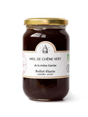 Miel de Chêne vert Bio 480g - Saveur boisée et notes fleuries, fortifiant - Ballot-Flurin