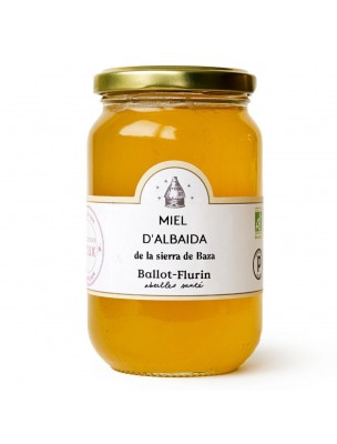 Miel d'Albaida Bio 480g - Miel Rare - Ballot-Flurin