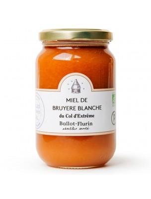 Miel de Bruyère Blanche Bio 480g - Miel Gourmand - Ballot-Flurin