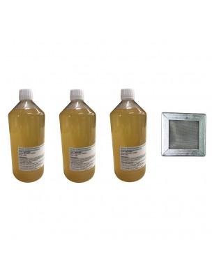 Kit Consommation Stil'Air Mini 3 Mois Citron Menthe - 1 Filtre et 3 Litres de solution - Parolai Stil'Eco