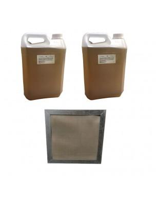Kit Consommation Stil'Air 250 ou 500 3 Mois Citron - 1 Filtre et 10 Litres de solution - Parolai Stil'Eco