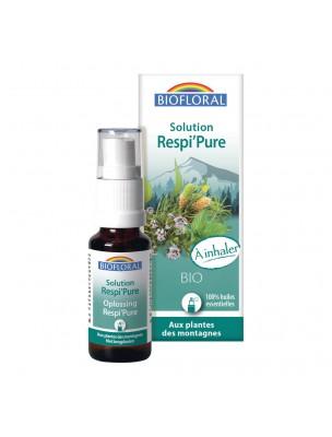 Image de Solution Respi'Pure Bio - Voies respiratoires 15ml - Biofloral depuis ▷ Origan compact Bio - Huile essentielle Origanum compactum 10 ml -