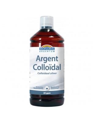 Argent Colloïdal 20 ppm - Vertus antiseptiques 1000 ml - Biofloral