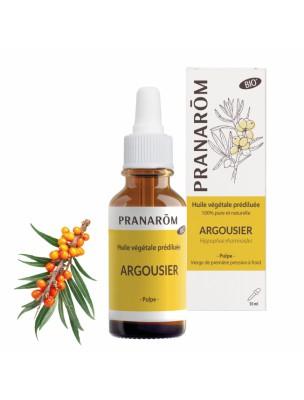 Argousier Bio - Huile végétale Prédiluée d'Hippophae rhamnoides 30 ml - Pranarôm