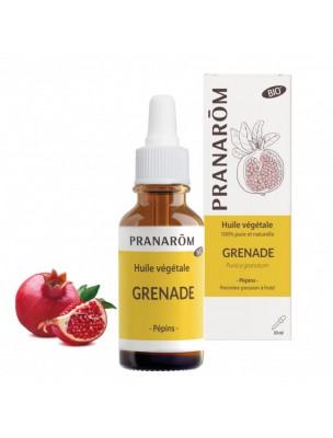 Grenade Bio - Huile végétale de Punica granatum 30 ml - Pranarôm