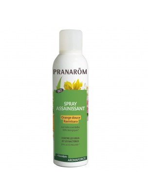 Aromaforce Spray Assainissant - Orange douce Ravintsara 150 ml - Pranarôm
