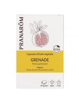 Grenade Bio - Huile végétale de Punica granatum 60 capsules - Pranarôm