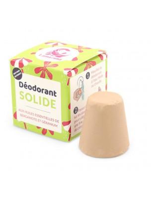 Déodorant solide Vegan sans aluminium - Bergamote 30 grammes - Lamazuna